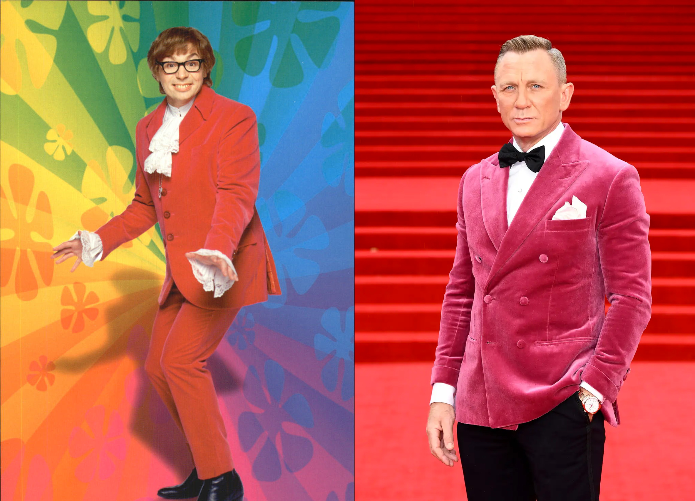 What to Watch: Who Wore it Best? Daniel Craig v Austin Powers